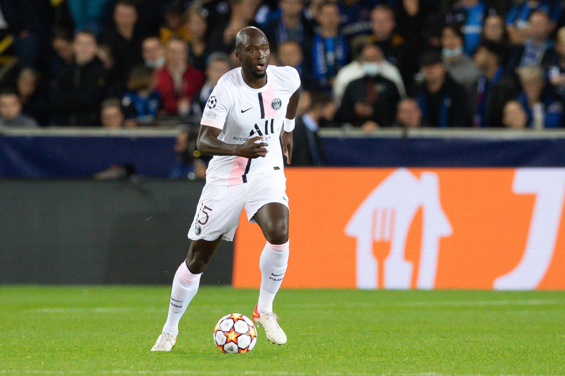 Danilo Pereira qui donne le meilleur de lui-même en portant les couleurs du Paris Saint-Germain (Icon Sport)