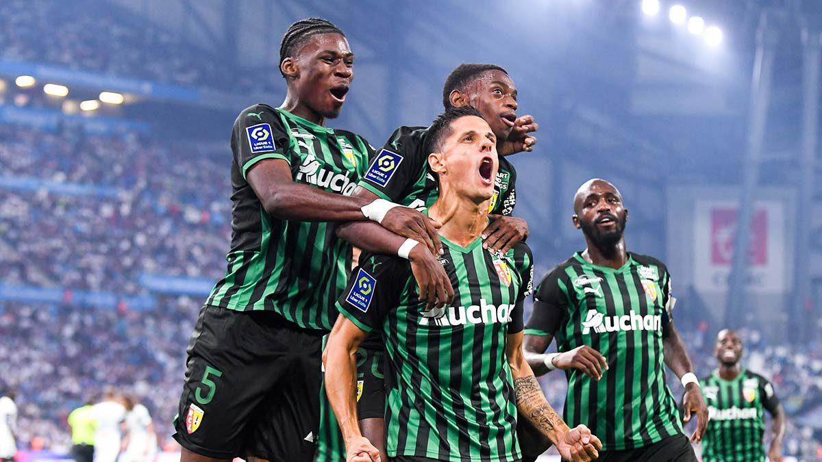 Grâce un début de match plein, Lens a rapidement mené 2-0 face à l'OM au Stade Vélodrome (iconsport)