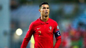 Cristiano Ronaldo a été libéré de la suite du rassemblement international par la Fédération Portugaise de Football (iconsport)