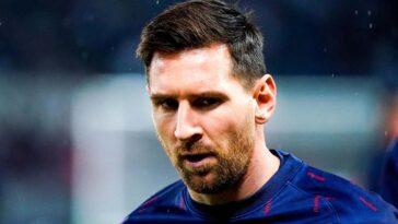 Leo Messi est apparu frustré d'être remplacé lors de Paris - Lyon (iconsport)