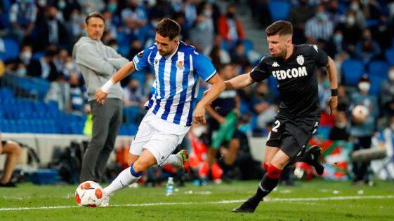Si elle a subi, l'AS Monaco est parvenue à décrocher un point sur la pelouse de la Real Sociedad en Ligue Europa (AS Monaco)