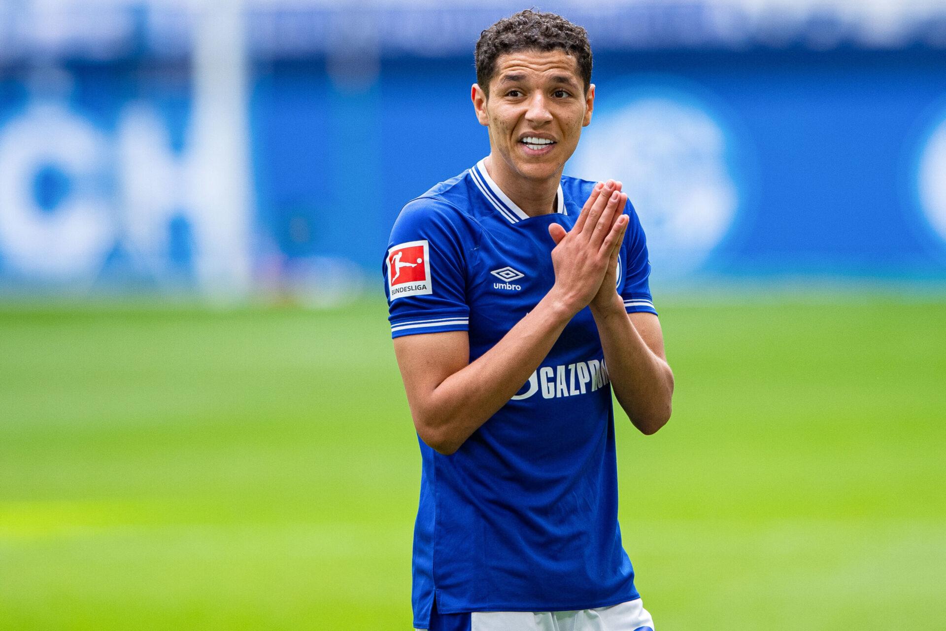 Amine Harit sous les couleurs de Schalke 04 (Icon Sport)