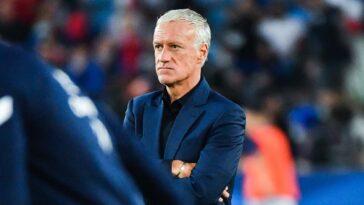 Didier Deschamps a tenu à relativiser après le nul des Bleus contre la Bosnie (1-1) (iconsport)