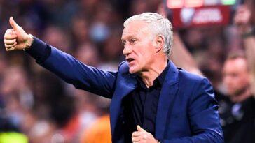 Didier Deschamps est apparu soulagé après la victoire des Bleus contre la Finlande (iconsport)