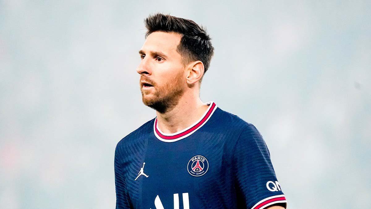 Remplacé à la 76ème minute de Paris - Lyon, Lionel Messi a subi une béquille selon L'Équipe (iconsport)