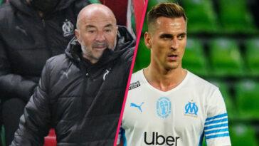 S'il espérait pouvoir compter sur lui à Angers ce mercredi, Sampaoli a annoncé que Milik était désormais attendu ce dimanche contre Lens (iconsport)