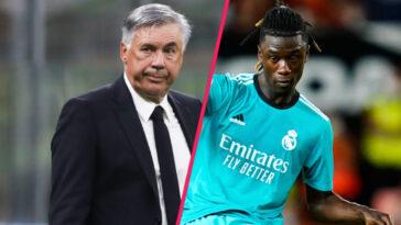 En conférence de presse, Carlo Ancelotti s'est exprimé sur Eduardo Camavinga (iconsport)