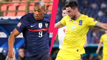 Anthony Martial évoluera en pointe à la place de Karim Benzema avec l'équipe de France, face à l'Ukraine de Roman Yaremchuk. Icon Sport