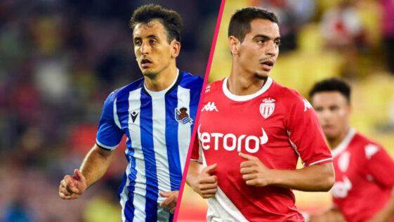 La Real Sociedad et l'AS Monaco s'affrontent à partir de 18h45 dans le groupe B de Ligue Europa (iconsport)