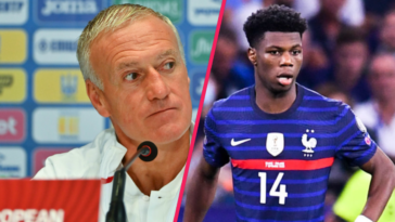 Didier Deschamps a incité les Bleus à prendre exemple sur Aurélien Tchouaméni. Icon Sport