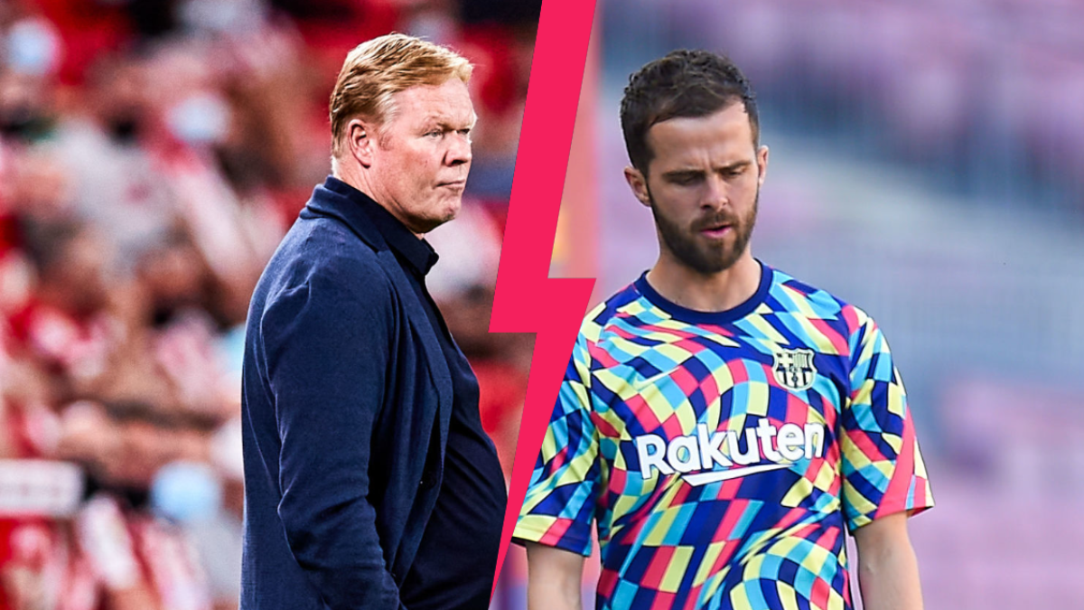 Ronald Koeman a répondu à Miralem Pjanic, qui avait chargé son ancien entraîneur du Barça. Icon Sport