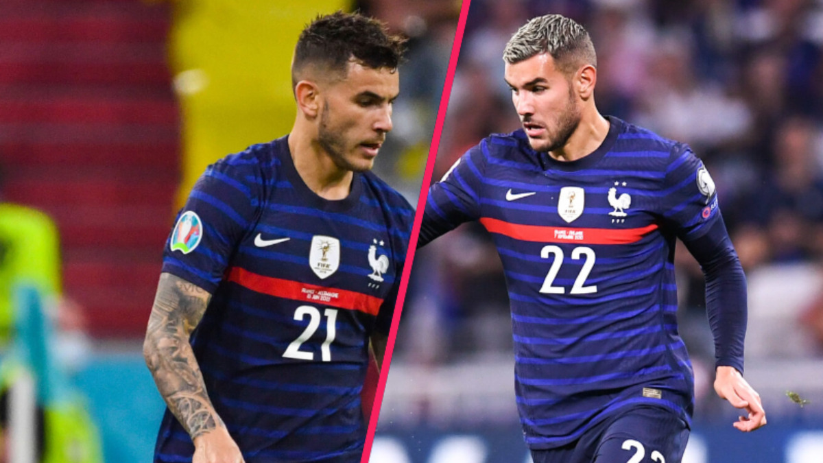 Les deux frères Lucas et Théo Hernandez vont évoluer ensemble pour la première fois en équipe de France (iconsport)