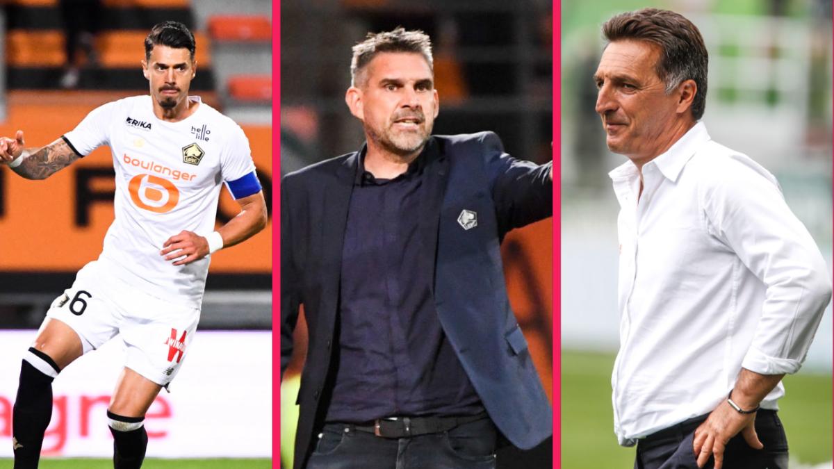 José Fonte, Jocelyn Gourvennec et Christophe Pélissier ont réagi après la victoire de Lorient face à Lille (2-1), vendredi 10 septembre. Icon Sport