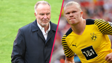 Pour Karl-Heinz Rummenigge, le Bayern n'a pas les moyens de recruter Erling Haaland. Icon Sport