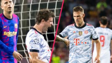 Thomas Müller et Joshua Kimmich ont livré leurs impressions après la démonstration du Bayern contre le Barça. Icon Sport