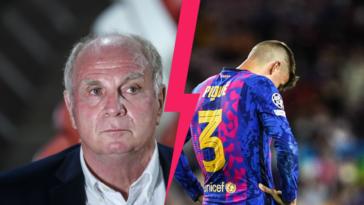 Uli Höness s'est montré très dur envers le Barça de Piqué. Icon Sport