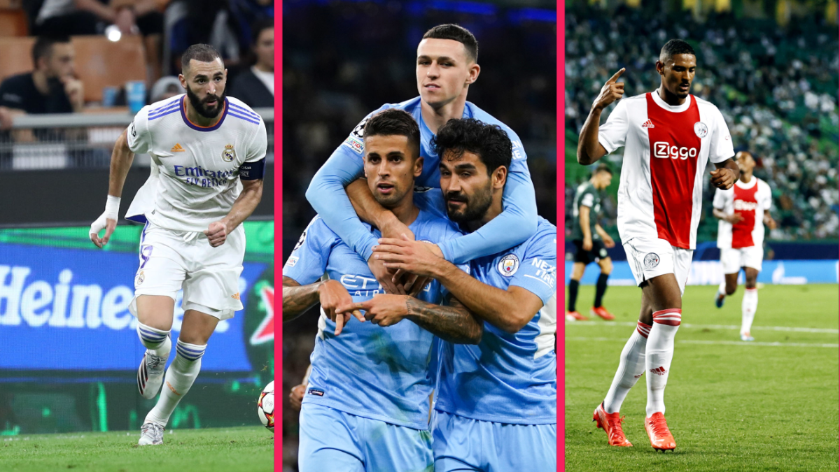Le Real Madrid de Karim Benzema a coiffé l'Inter, Manchester City a gagné un festival contre Leipzig et Sébastien Haller a marqué l'histoire avec l'Ajax. Icon Sport