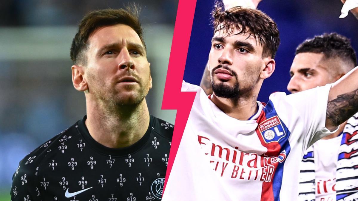 Le PSG de Lionel Messi et l'OL de Lucas Paqueta s'affrontent ce dimanche 19 septembre au Parc des Princes en Ligue 1. Icon Sport