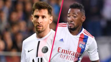 Lionel Messi (PSG) et Jérôme Boateng (Lyon) vont se retrouver ce dimanche 19 septembre... Icon Sport