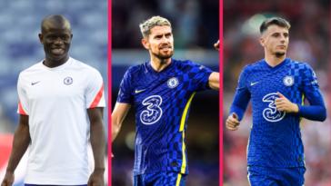 Les Blues devraient bientôt proposer de nouveaux contrats à Kanté, Jorginho et Mount (iconsport)