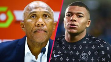 Antoine Kombouaré a tenu à défendre Kylian Mbappé, fortement critiqué ces derniers jours pour son comportement. Icon Sport