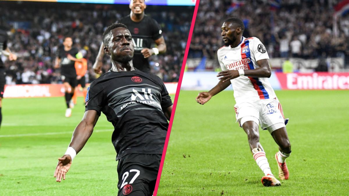 Le PSG d'Idrissa Gueye a battu Montpellier tandis que l'OL de Karl Toko Ekambi a été accroché par Lorient. Icon Sport