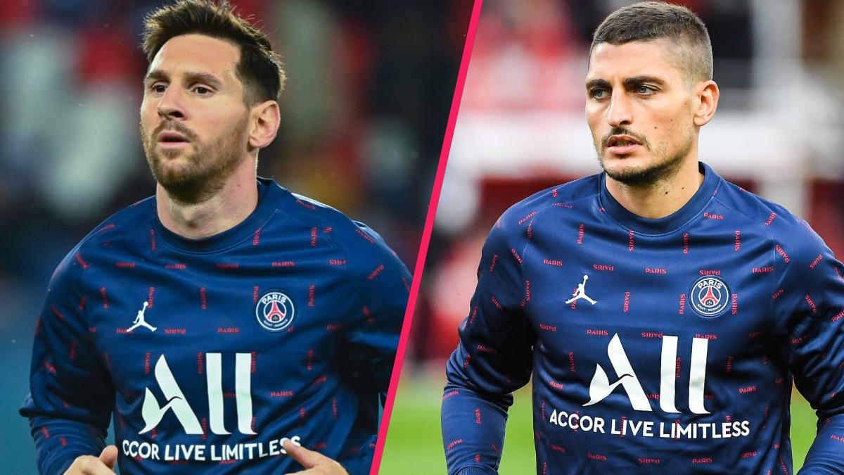 Lionel Messi et Marco Verratti pourraient être rétablis à temps pour le choc contre Manchester City en Ligue des champions. Icon Sport