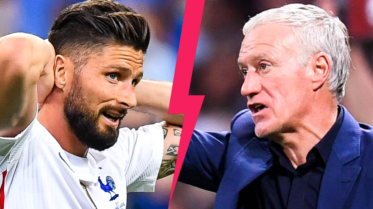 Olivier Giroud, déçu du manque de considération de Didier Deschamps lors de sa non-convocation avec les Bleus. Icon Sport