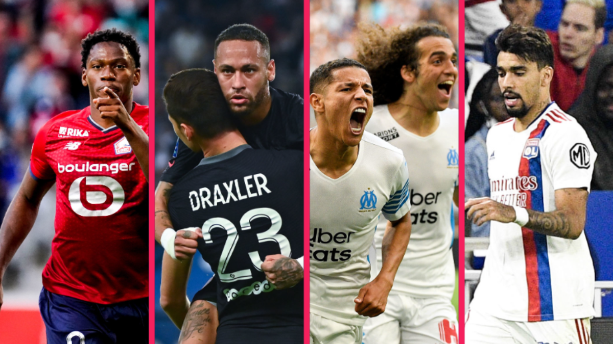 Le LOSC de Jonathan David et le PSG de Neymar seront sur le pont en Ligue des champions cette semaine du lundi 27 septembre 2021, tandis que l'OM d'Amine Harit et l'OL de Lucas Paqueta joueront en Ligue Europa. Icon SPort
