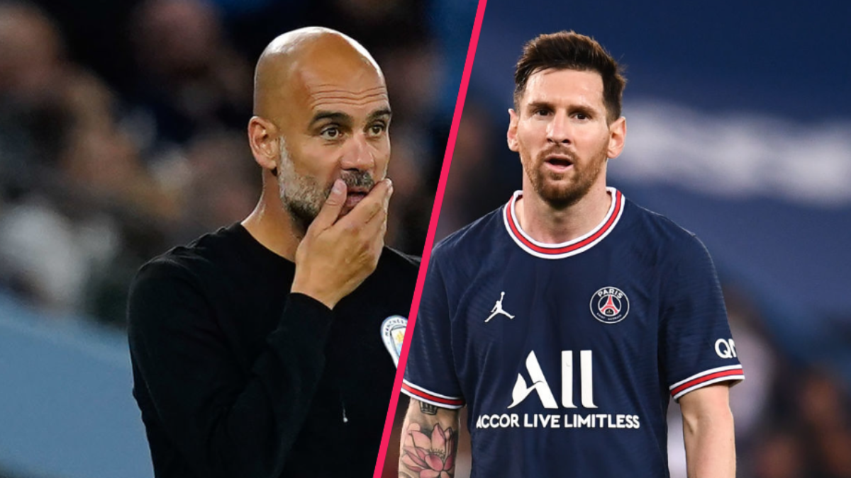 Pep Guardiola espère la présence de Lionel Messi contre Manchester City. Icon Sport