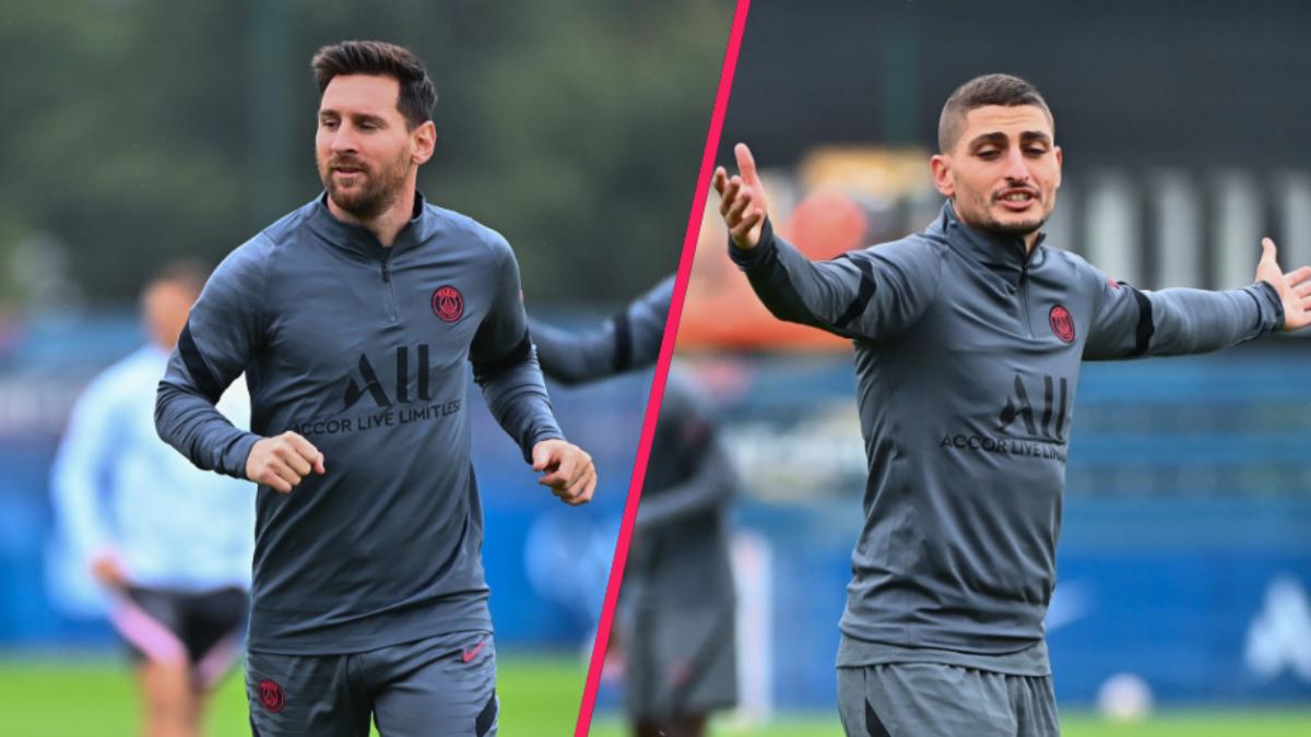 Lionel Messi et Marco Verratti devraient bien faire partie du groupe contre Manchester City. Une place de titulaire semble même promise à l'Argentin, tandis que le milieu italien pourrait n'entrer qu'en cours de jeu. Icon Sport