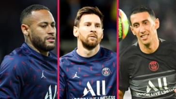 Le PSG devra, en autres, faire sans Messi, Neymar et Marquinhos contre Angers lors de la 10ème journée de championnat. Icon Sport