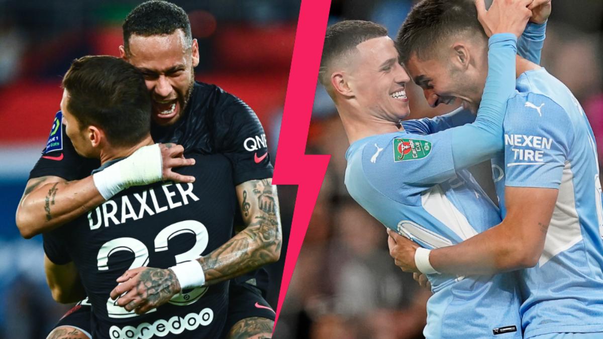 Le PSG affrontera Manchester City ce mardi soir (iconsport)