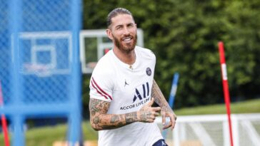 Ramos pourrait être dans le groupe parisien pour le match face à Angers (iconsport)