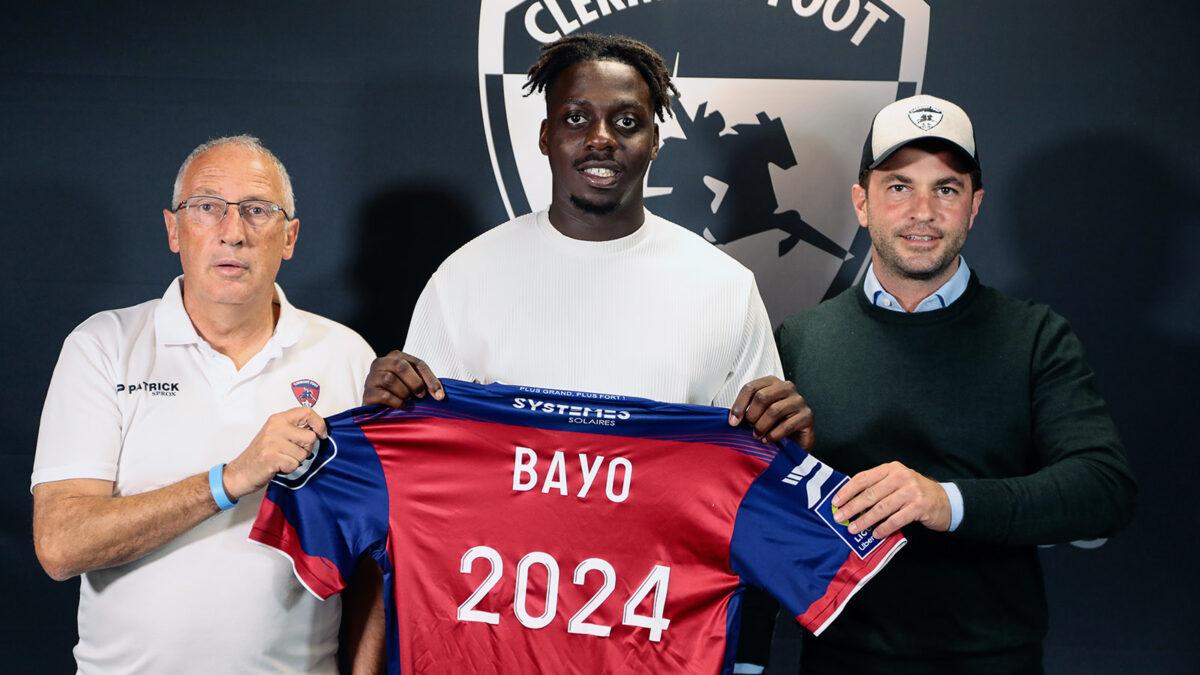 Mohamed Bayo a prolongé à Clermont jusqu'en 2024. @Clermont Foot