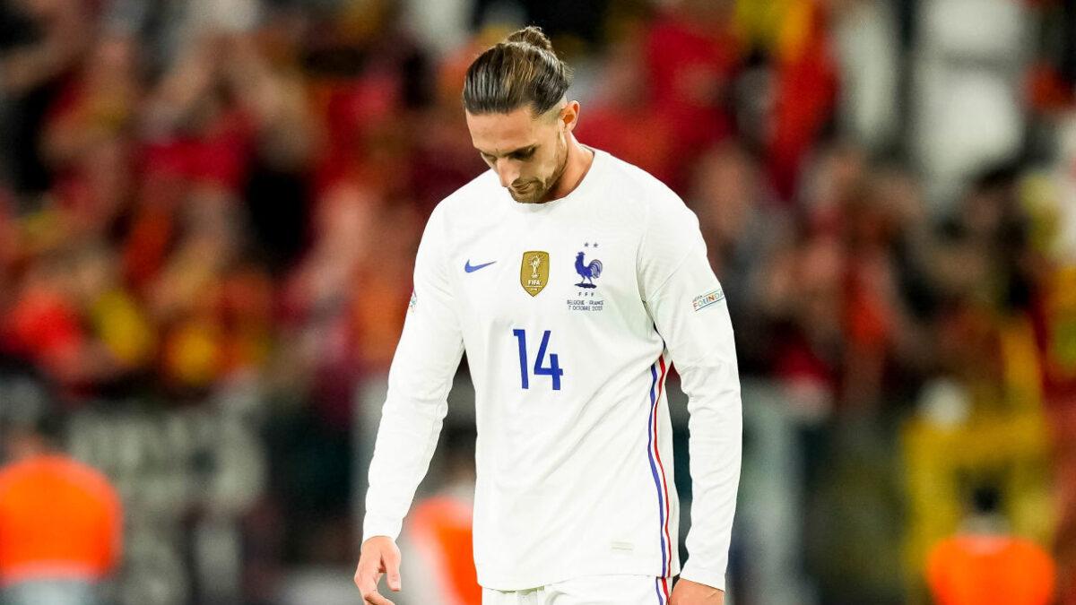 Adrien Rabiot a été testé positif à la Covid-19 et doit donc déclarer forfait pour la finale de Ligue des nations contre l'Espagne. Icon Sport