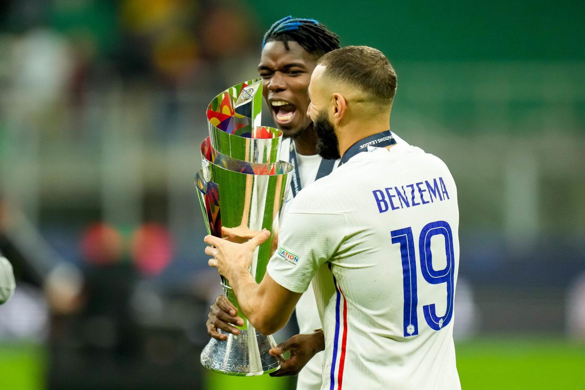 Karim Benzema et les Bleus remettront leur titre en jeu à partir de juin 2022. Icon Sport