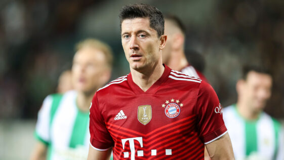 Robert Lewandowski sous le maillot du Bayern Munich (IconSport)