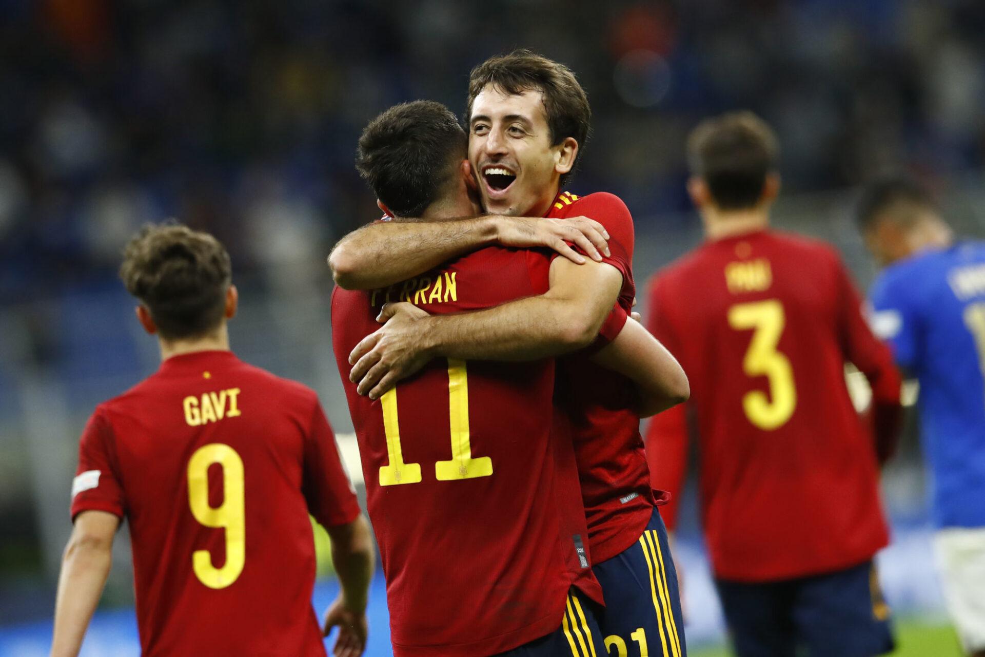Mikel Oyarzabal et l'Espagne ont tiré les ficelles contre l'Italie, impuissante. Icon Sport