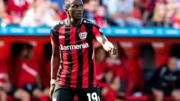 Moussa Diaby, dans une interview à L'Equipe, n'a pas caché son intention de rejouer un pour le Paris Saint-Germain. Icon Sport
