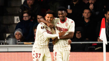 Monaco est parvenu à arracher la victoire face au PSV à Eindhoven. Icon Sport