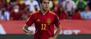 Eric García a affirmé qu'il y avait hors-jeu sur le but de Kylian Mbappé. Icon Sport