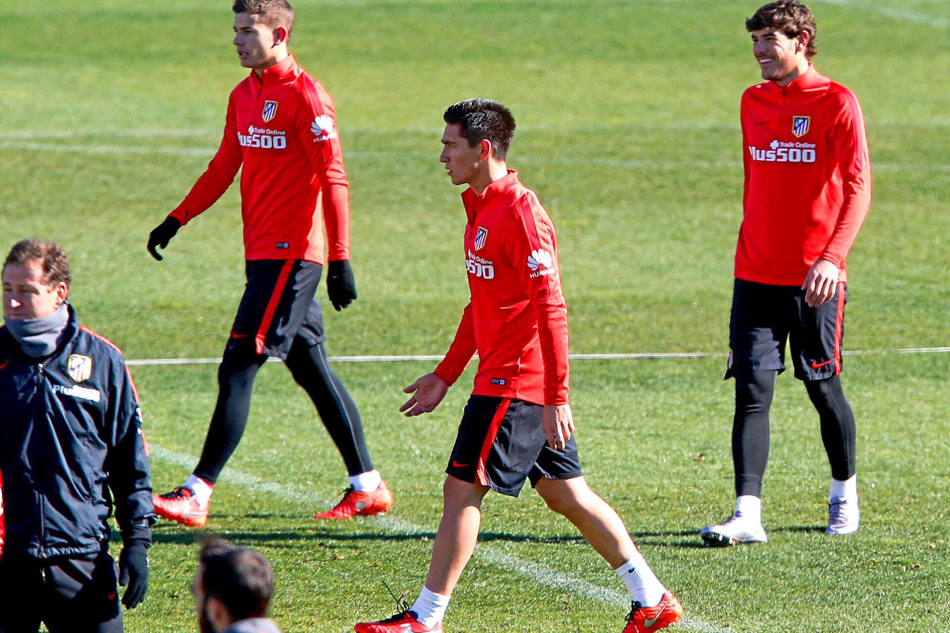 Formés à l'Atlético de Madrid, les frères Hernández n'y connaissent pas la même réussite. Jamais apparus ensemble en match, ils ont participé à quelques séances d'entraînement (iconsport)