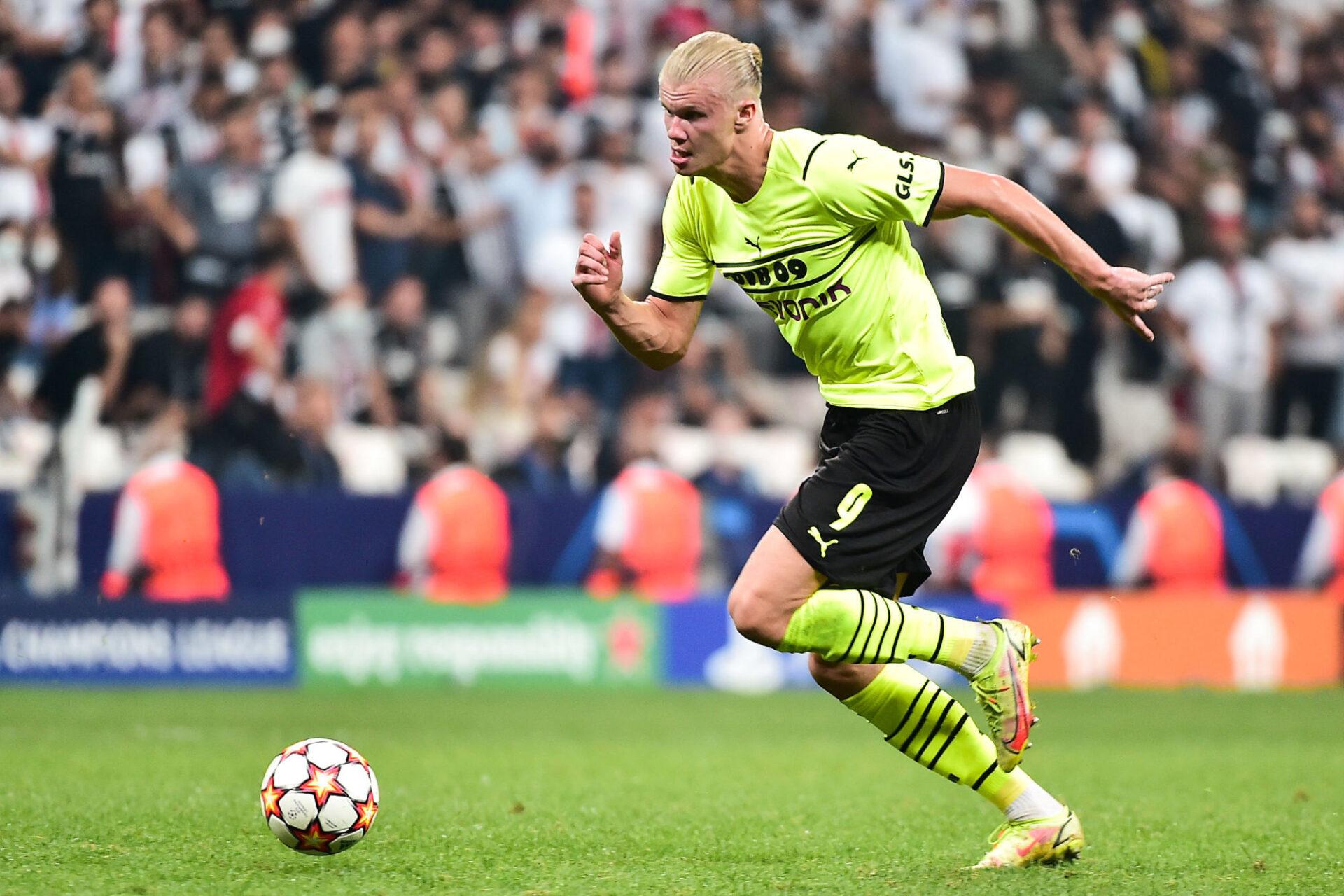 Erling Haaland au Borussia Dortmund. Icon Sport