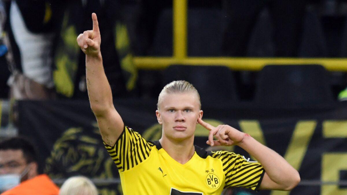 Haaland aurait déjà choisi de quitter Dortmund l'été prochain (iconsport)