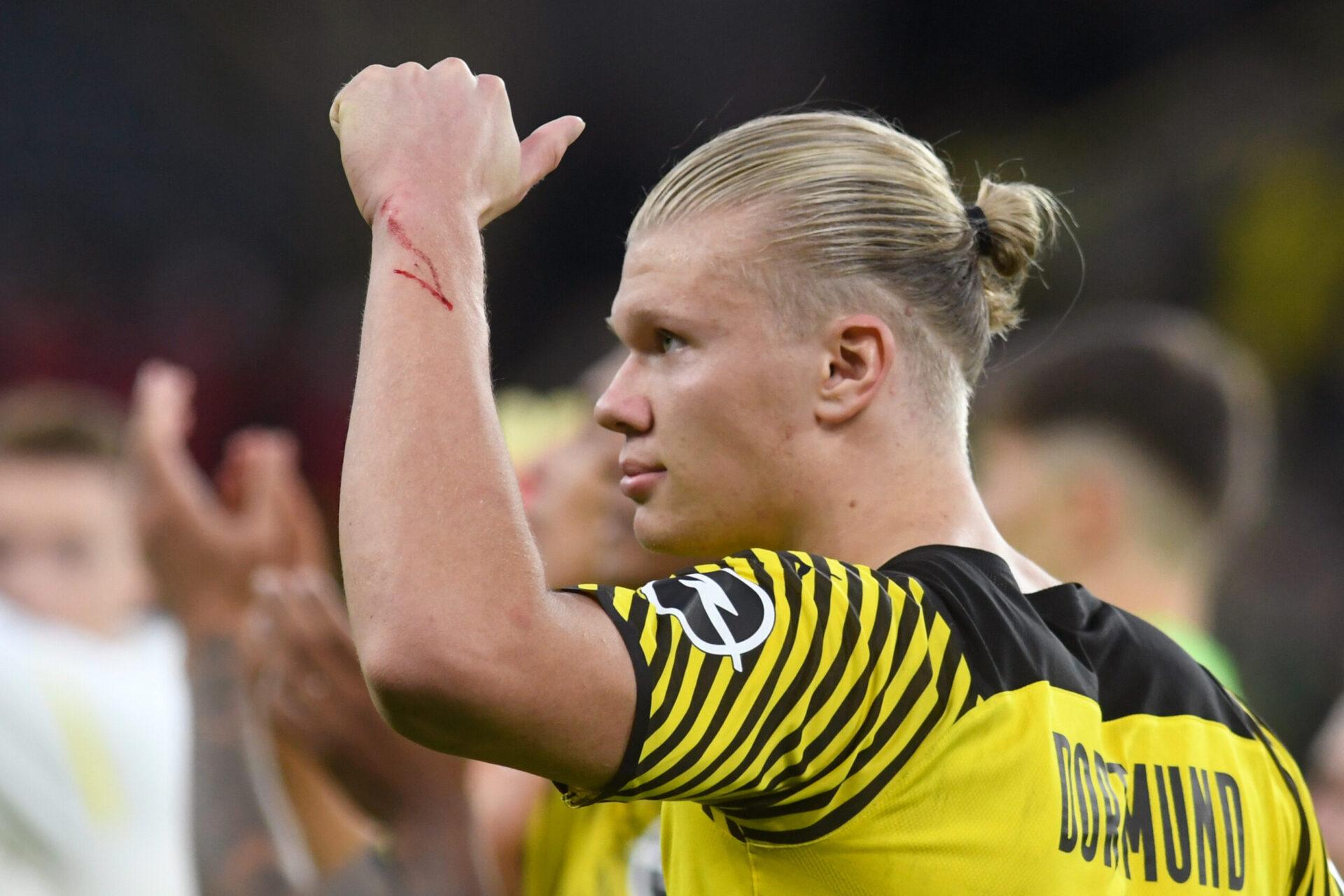 Erling Haaland veut quitter le Borussia Dortmund, mais il faudra mettre la main à la poche pour enrôler le Norvégien. Icon Sport