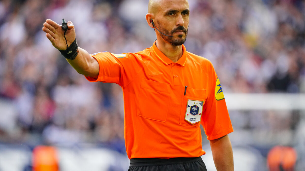 Ben El Hadj, arbitre de Ligue 1 (IconSport)