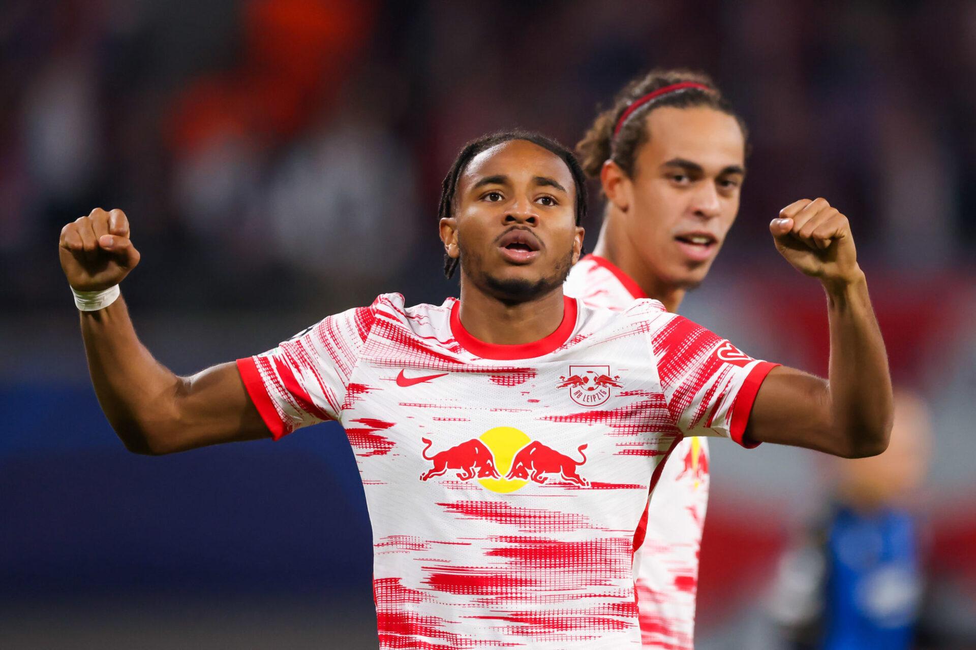 Christopher Nkunku est intenable en ce moment avec Leipzig. Icon Sport