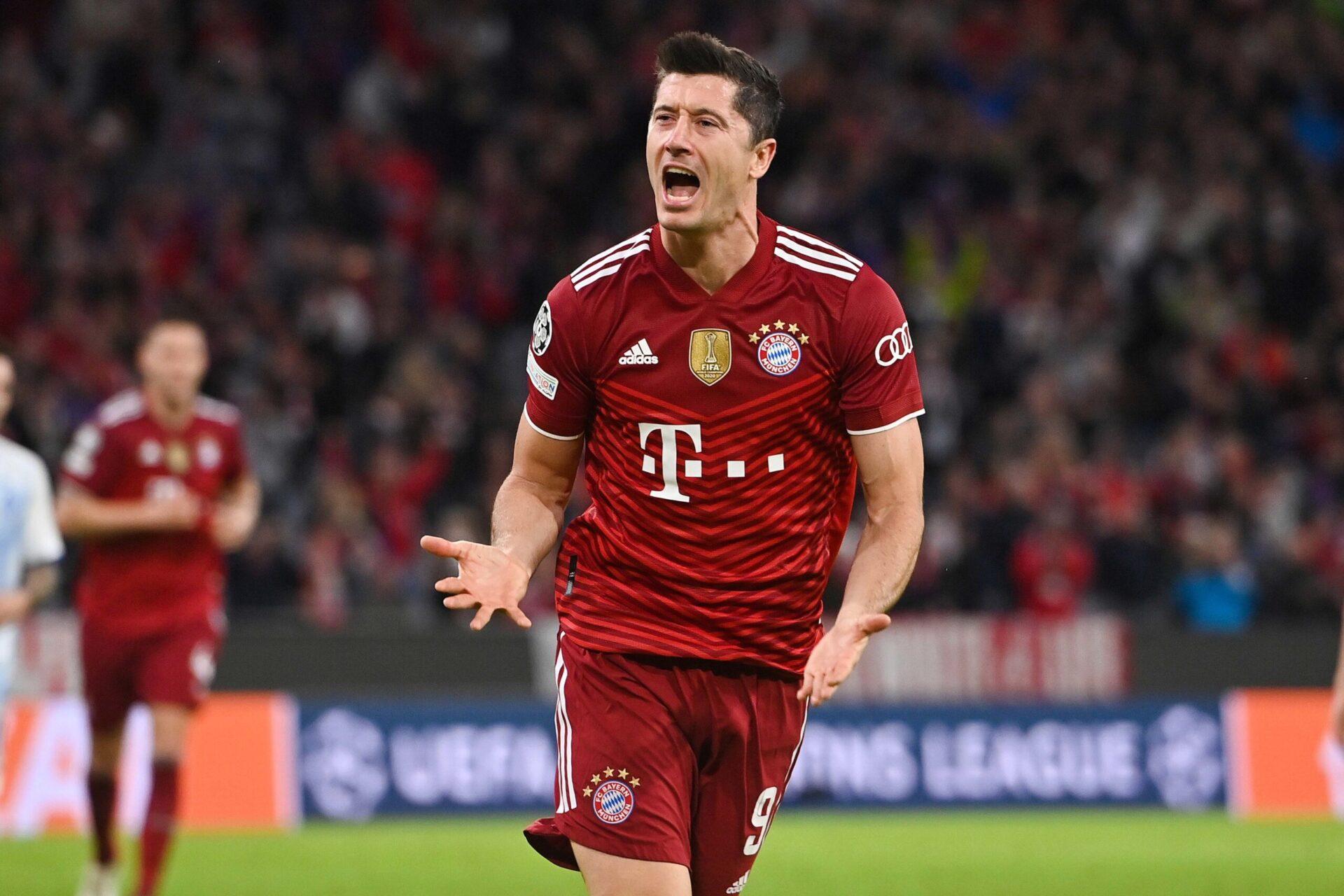 Robert Lewandowski sous le maillot du Bayern (iconsport)