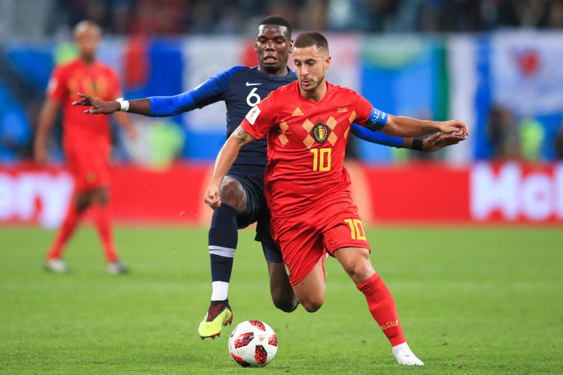 La France de Deschamps et la Belgique se croiseront pour la première fois depuis la demi-finale de la Coupe du monde 2018 remportée par les Bleus (iconsport)